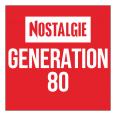 écouter NOSTALGIE GENERATION 80 en direct live